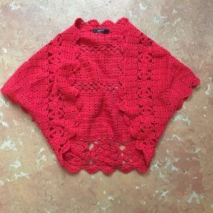 Mango Crochet Shrug